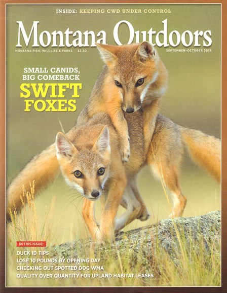 Montana Outdoors Cover - 9/1/2018