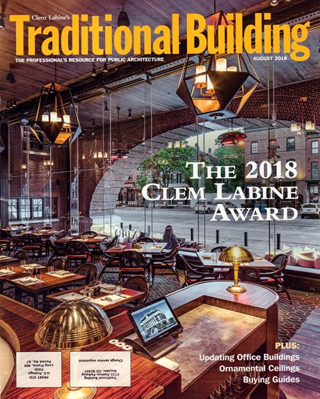Traditional Building Cover - 8/1/2018