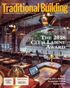 Traditional Building Magazine   8/1/2018 Cover