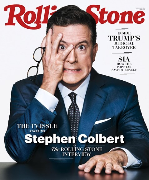 Rolling Stone Cover - 9/1/2018