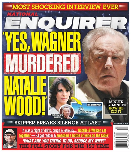 National Enquirer Cover - 9/10/2018