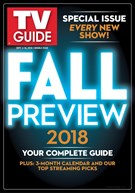 TV Guide Magazine 9/3/2018
