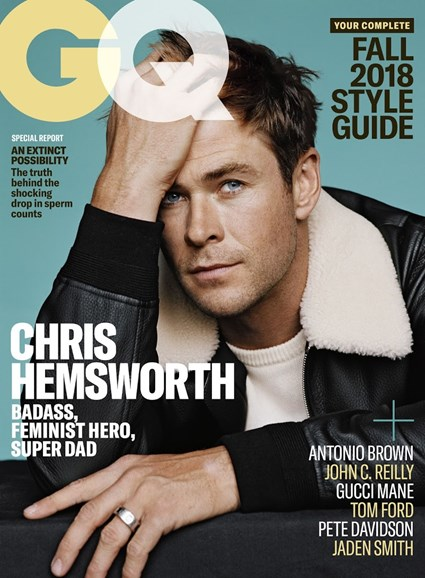 Gentlemen's Quarterly - GQ Cover - 9/1/2018
