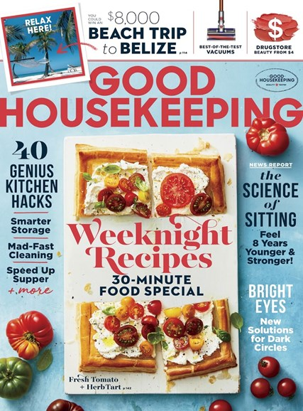 Good Housekeeping Cover - 9/1/2018