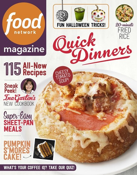 Food Network Cover - 10/1/2018