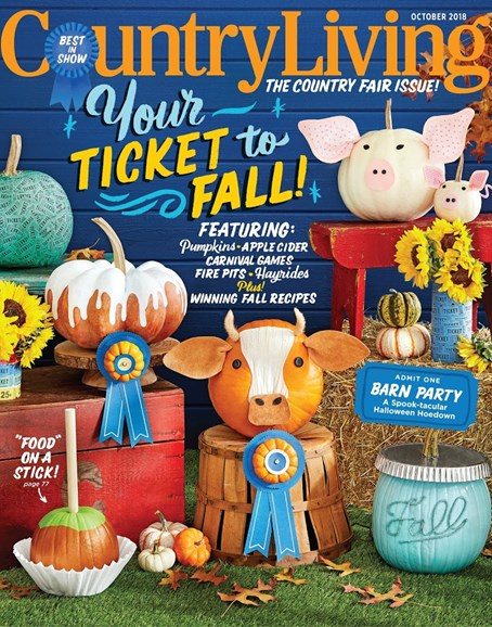 Country Living Cover - 10/1/2018