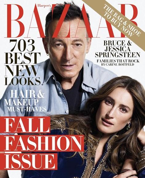 Harper's Bazaar Cover - 9/1/2018
