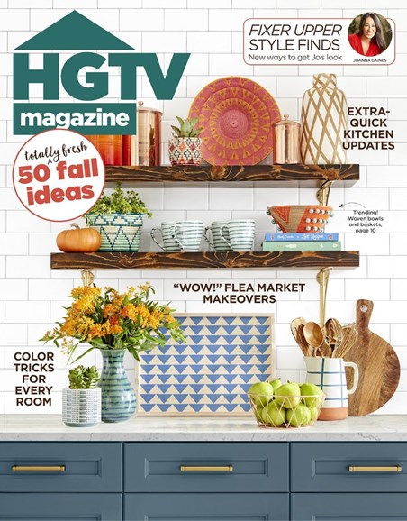 HGTV Cover - 10/1/2018