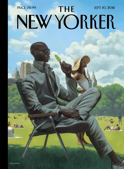 The New Yorker Cover - 9/10/2018