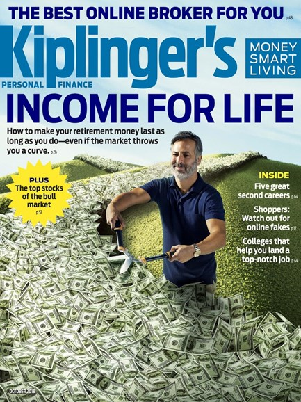 Kiplinger's Personal Finance Cover - 10/1/2018