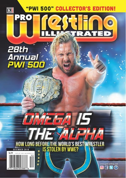 Pro Wrestling Illustrated Cover - 12/1/2018