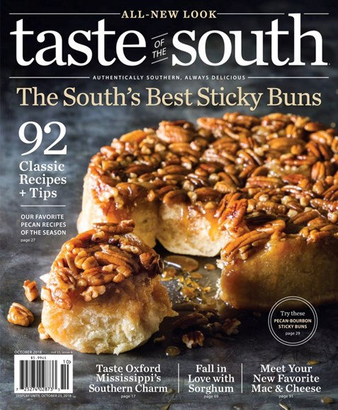 Taste of the South Cover - 10/1/2018