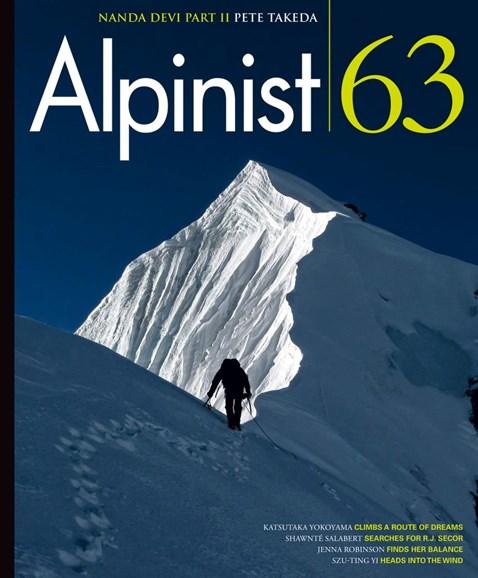 Alpinist Cover - 9/1/2018