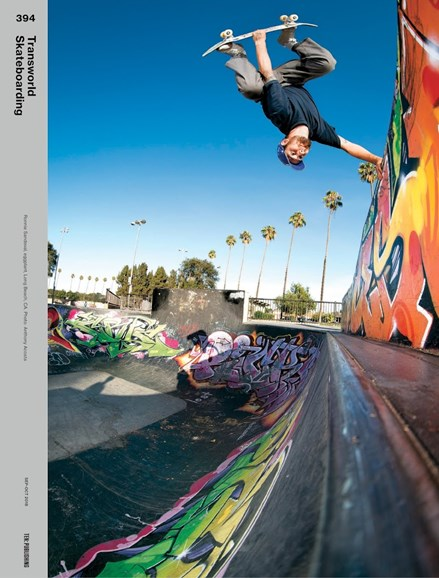 Transworld SKATEboarding Cover - 9/1/2018