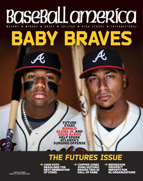 Baseball America Cover - 8/3/2018