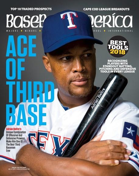 Baseball America Cover - 8/24/2018