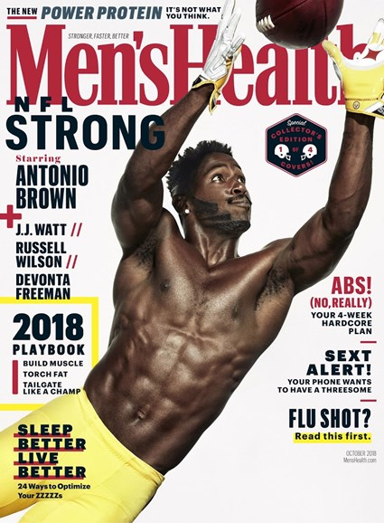 Men's Health Cover - 10/1/2018