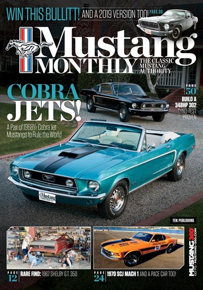 Mustang Monthly Cover - 10/1/2018