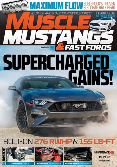 Muscle Mustangs & Fast Fords Cover - 11/1/2018