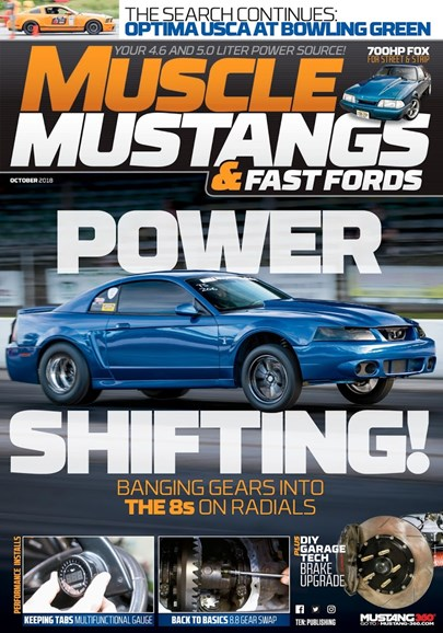 Muscle Mustangs & Fast Fords Cover - 10/1/2018