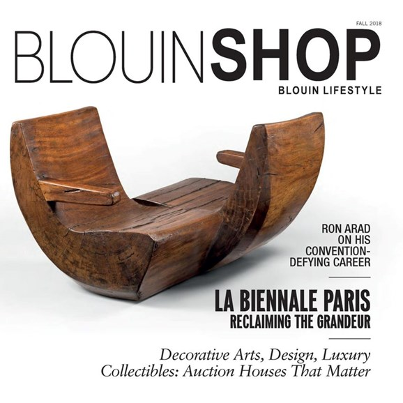 Blouin Lifestyle Cover - 9/1/2018