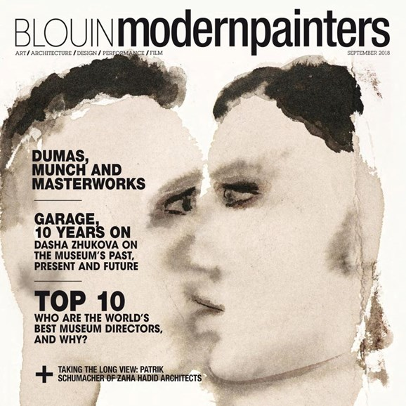 Blouin Modern Painters Cover - 9/1/2018