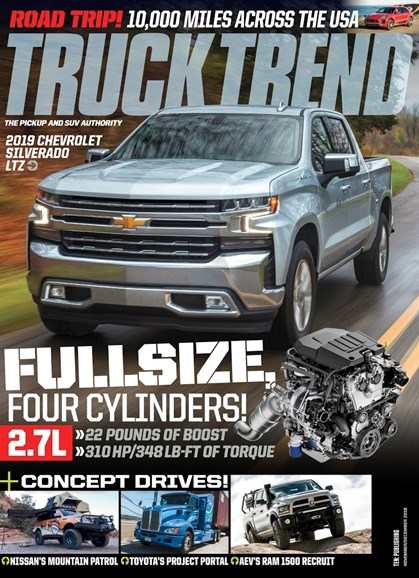 Truck Trend Cover - 11/1/2018