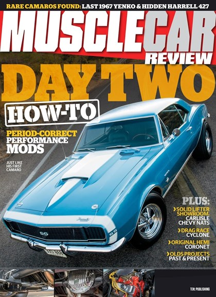 Muscle Car Review Cover - 10/1/2018