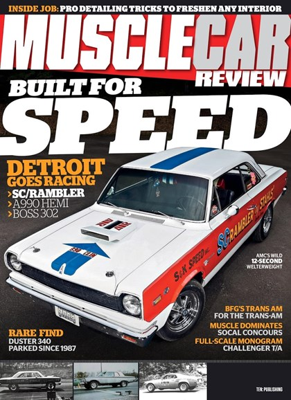 Muscle Car Review Cover - 9/1/2018
