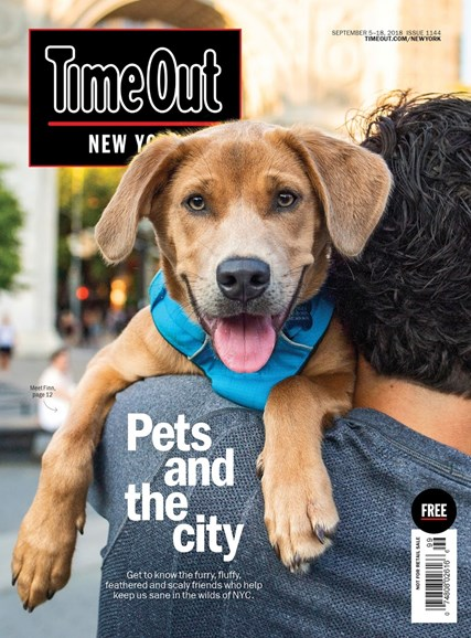 Time Out New York Cover - 9/5/2018