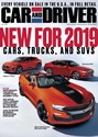 Car And Driver Magazine   9/2018 Cover