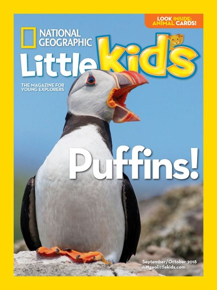 National Geographic Little Kids Cover - 9/1/2018