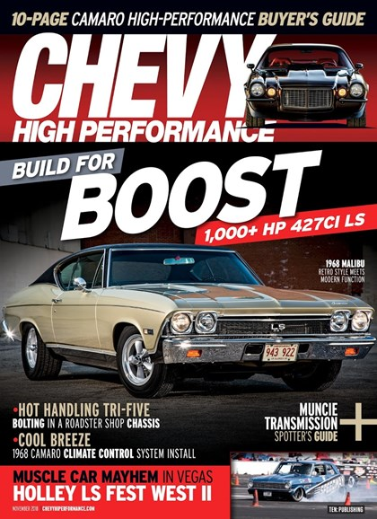 Chevy High Performance Cover - 11/1/2018