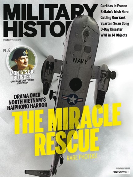 Military History Cover - 11/1/2018
