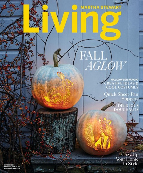 Martha Stewart Living Cover - 10/1/2018