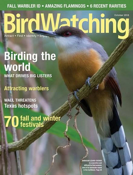 Bird Watching Cover - 9/1/2018