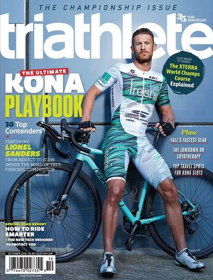 Triathlete Cover - 10/1/2018
