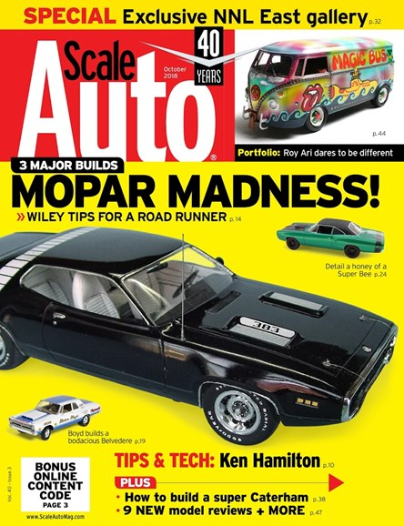 Scale Auto Magazine Cover - 10/1/2018