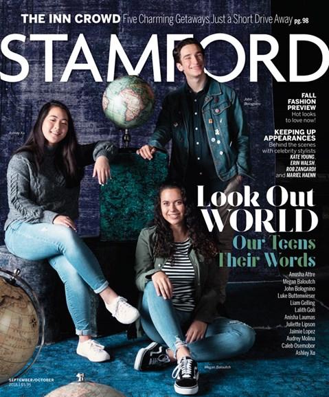 Stamford Magazine Cover - 9/1/2018