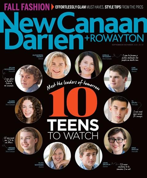 New Canaan-Darien Cover - 9/1/2018