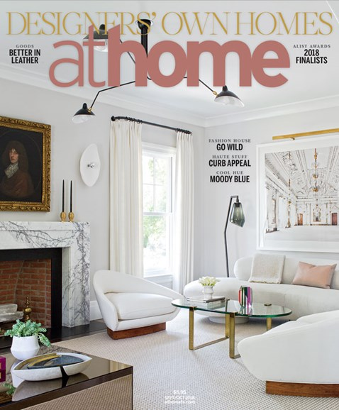 At Home in Fairfield County Cover - 9/1/2018
