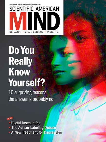 Scientific American Mind Cover - 7/1/2018