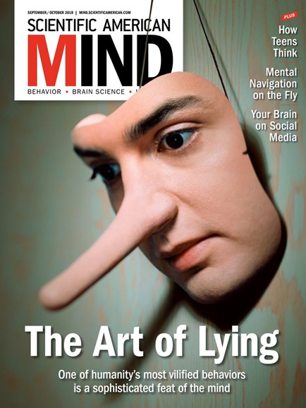 Scientific American Mind Cover - 9/1/2018