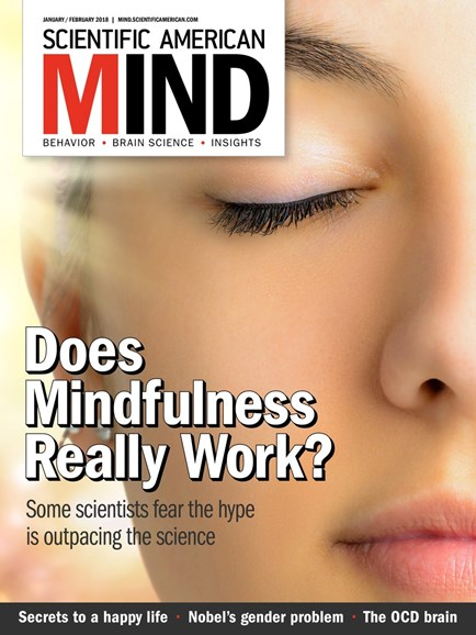 Scientific American Mind Cover - 1/1/2018