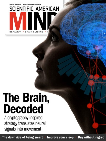 Scientific American Mind Cover - 3/1/2018