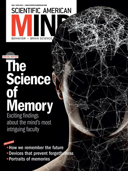 Scientific American Mind Cover - 5/1/2018