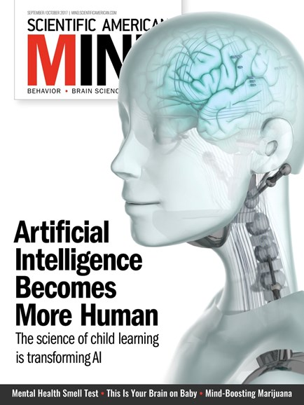Scientific American Mind Cover - 9/1/2017