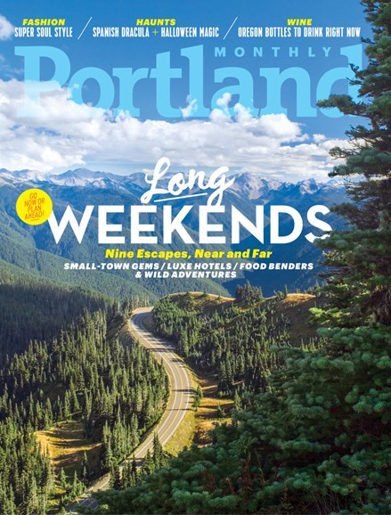 Portland Monthly Cover - 10/1/2018