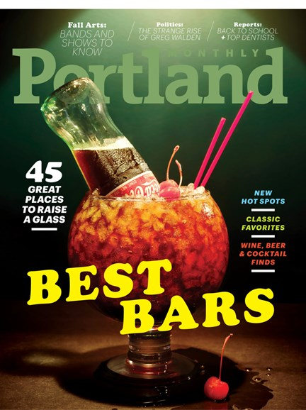 Portland Monthly Cover - 9/1/2018