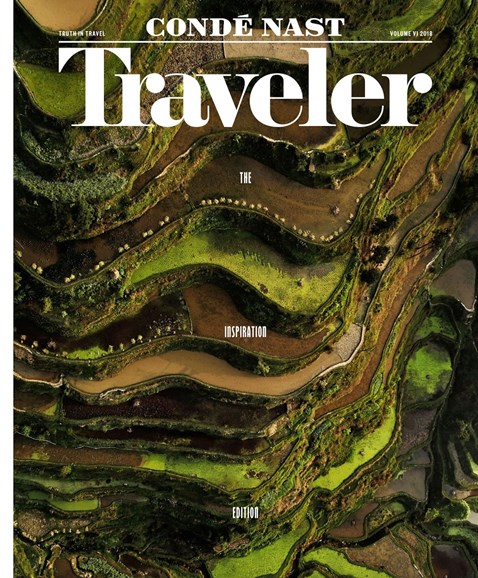 Condé Nast Traveler Cover - 8/1/2018